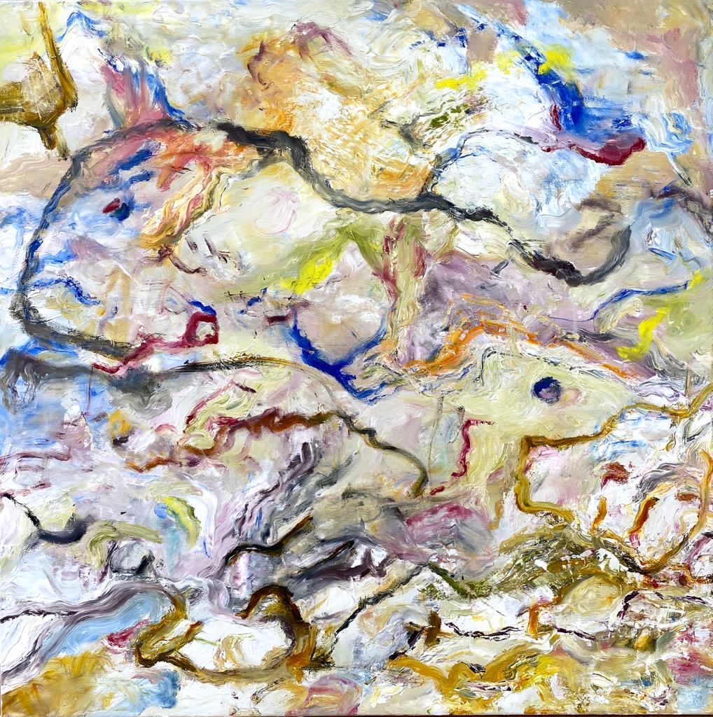 Painted Music 5 100x100 Öl