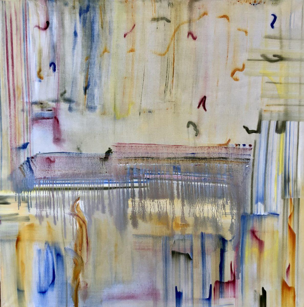 Painted Music 12 120x120 Öl