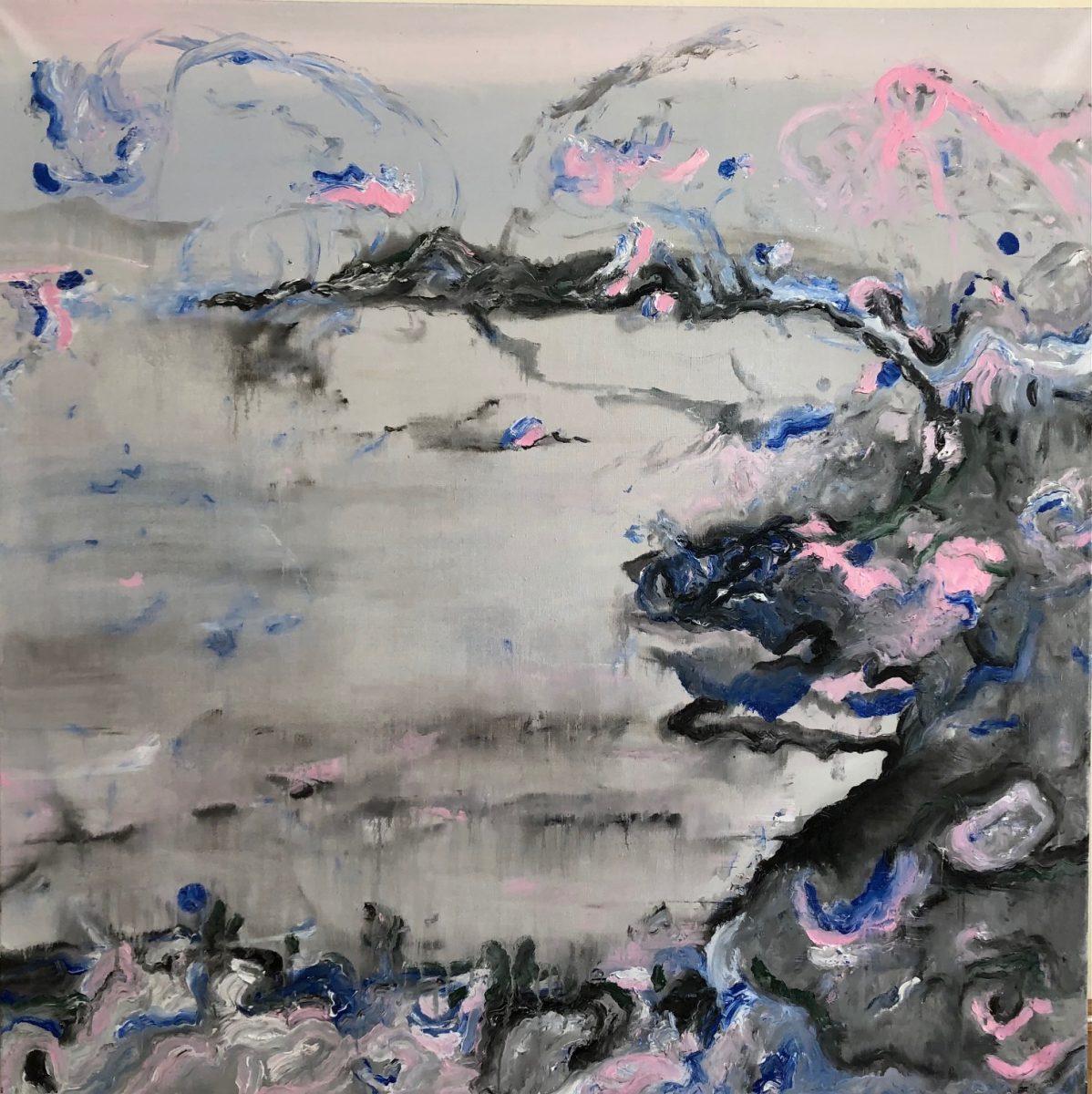 Painted Music 8 100x100 Öl